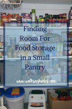 I've been wanting to start food storage for a while but didn't think it would fit in my small pantry. This was perfect  to read about what to buy for my family and how to fit in my pantry. Easy to buy food too.