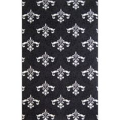 Extreme Fleur de Lis Rug $39. Could be indoor/outdoor...I use in high traffic area and <3 it.