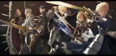 FGO Knights of The Round