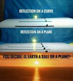 Only Flat Surfaces can reflect without distortion. A curved Surface will not make a mirror image. The World's biggest mirror is the Bolivian Salt FLATS. Flat Earth Facts, Flat Earth Proof, Flat Earth Dome, Flat Earth Conspiracy, Conspiracy Theories, Illuminati Conspiracy, Terre Plate, Research Flat Earth, Nasa Lies