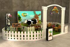 Lamar Farm photo booth by Ahmed Ismail, via Behance