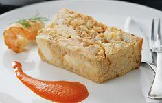 Pastel de merluza y salmón
