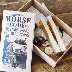 Morse Code Kit | Science Exploration for Kids | Children's Morse Code Package