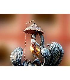 Ujjayi — hinducosmos: Krishna Kaliya (via Dolls of India) Hare Krishna, Krishna Hindu, Krishna Statue, Jai Shree Krishna, Radha Krishna Pictures, Krishna Photos, Krishna Images, Krishna Leela, Krishna Avatar