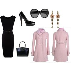 Feeling a little Jackie O inspired., created by cydneyrai on polyvore