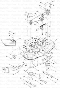 bolens 13am662f163 2003 lawn tractor schematics page a bolens rh pinterest com John Deere Schematics Bolens Snow Blade Schematic