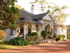 German cottage style home Abandoned Houses, Old Houses, Nice Houses, Dream Houses, Cute Cottage, Queenslander, Australian Homes, Australian Architecture, Cottage Style Homes
