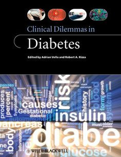 Clinical dilemmas in diabetes -  Vella, Adrian (redacteur) -  plaats 605.16 # Endocrinologie