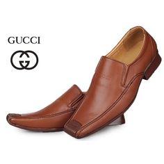 Image detail for -Gucci Men Fashion Shoes Black DarkOrange O [Gucci Men Shoes-038] - $ ...