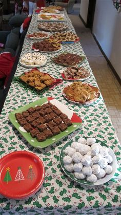 Christmas Cookie Buffet