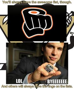 Eulogy: Remembering the Philadelphia Flyers Pittsburgh Sports, Pittsburgh Penguins Hockey, All About Penguins, Penguin Love, Philadelphia Flyers, Funny As Hell, I Fall In Love, Athletes, Nhl
