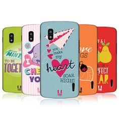 HEAD-CASE-DESIGNS-LOVEY-DOVEY-MISHMASH-HARD-BACK-CASE-FOR-LG-NEXUS-4-E960 Lovey Dovey, Phone Cases, Cover, Ebay, Design, Phone Case