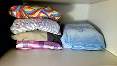 Nata disorganizzata: Come organizzare: la biancheria da letto