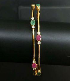 Bracelets for Women – Fine Sea Glass Jewelry Plain Gold Bangles, Gold Bangles Design, Gold Jewellery Design, Gold Jewelry, Jewelery, Silver Bracelets, Bangle Bracelets, Pendant Jewelry, Fashion Jewelry