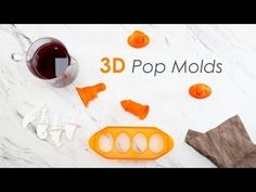 The ice pop molds I'm most excited about this year are Tovolo popsicle molds! Homemade Popsicles, Popsicle Molds, Ice Pops, Frozen Treats, Breeze, 3d, Cool Stuff, Easy, Sleeves