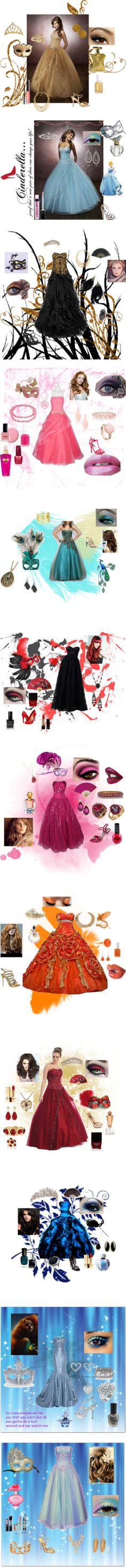 """Masquerade Ball Outfits"" by jgirl101 ❤ liked on Polyvore"