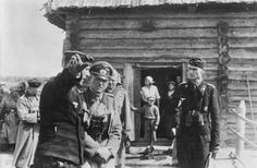 General Guderian at a forward command post of a Panzer regiment near Kiev, 1941; Photo Source
