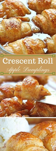 Crescent Roll Apple Dumplings Crescent Roll Apple Dumplings Crescent Roll Apple Dumplings Try not to be tricked by the fixings. The Crescent rolls loaded down with apple, cinnamon sugar and Mountain Dew plans something comparable for ench… Cresent Roll Apple Dumplings, Apple Crescent Rolls, Apple Dumpling Recipe, Crescent Roll Recipes, Cresent Roll Dessert Recipes, Crescent Roll Apple Turnovers, Apple Recipes Easy Quick, Apple Dessert Recipes, Trifle Desserts