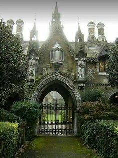 Gothic Gatehouse, England