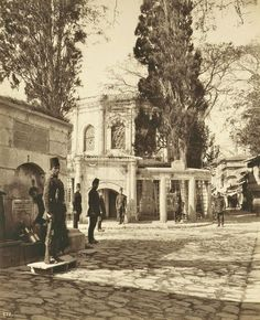 Eyüp Abdullah Fréres fotoğrafı - #Abdullah #Eyüp #fotoğrafı #Fréres #stadt Old Pictures, Old Photos, Istanbul Pictures, Ottoman Turks, Urban Architecture, Ottoman Empire, Historical Pictures, Istanbul Turkey, Old City