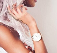 Larsson And Jennings Watch, Jewelry Tattoo, Pinterest Photos, Watches, Rose Gold Plates, Hand Tattoos, Outfit, Fashion Jewelry, Jewels
