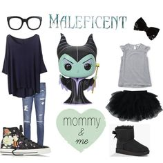 Disney Maleficent Mommy & Me Outfits