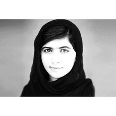 The 17 year-old with a Nobel Peace Prize. #MalalaYousafzai #ARWOMAN