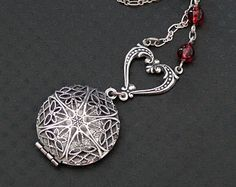 What a beautiful locket! Put a little cotton disk or felt pad in there and you're set!