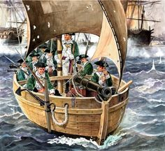 US Marines, War of American Independence American Revolutionary War, Early American, American Civil War, American History, European History, Independence War, American Independence, Military Art, Military History