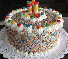 Easy Cake Decorating, Birthday Cake Decorating, Cake Decorating Techniques, Mini Cakes, Cupcake Cakes, Brithday Cake, Kreative Desserts, Chocolate Oreo Cake, Candy Cakes