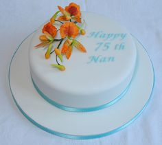 ... Pinterest | 75th birthday cakes, 80th birthday cakes and 75th birthday