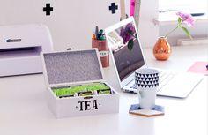 DIY-Upcycling Tea Storage Box