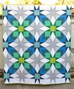 The Glenda Quilt Pattern (and scrap giveaway) | Kitchen Table Quilting | Bloglovin'