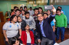 Muestra alcalde Enrique Rivas, interés en la Educación Especial