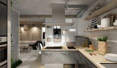 http://boomzer.com/3-ladylike-apartments-design/open-kitchen-shelving-small-pretty-apartment-designer-by-izumoff-design-studio-white-brick-wall-decor-wooden-kitchen-cabinets-wooden-countertop-kitchen-island/