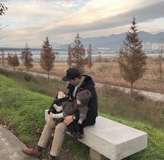ulzzang family with 2 kids . Cute Asian Babies, Korean Babies, Asian Kids, Cute Babies, Baby Kids, Cute Family, Baby Family, Family Goals, Ulzzang Kids