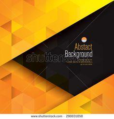 Yellow Abstract Stock Vectors & Vector Clip Art | Shutterstock