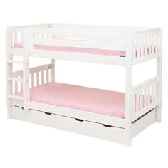 The Aubrey Slatted Low Bunk Bed is a fun and functional bunk bed for your child!