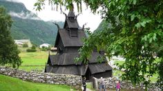 Borgund dates back to the end of the century. It had a strategic location in Sogn og Fjordane County on the old road connecting the eastern and western . Types Of Timber, Beautiful Norway, Church Architecture, Religious Education, Church Building, Building Structure, Christian Church, Place Of Worship, 12th Century