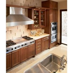Style 630F in Cherry Chocolate Glaze  Waypoint Living Space Cabinets