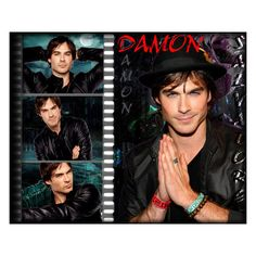 Картинка для рабочего стола Дневники Вампира (Vampire Diaries) - DAMON... ❤ liked on Polyvore