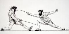 The Art of Fencing Portfolio 2009-2010 on Behance