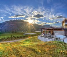 WINE tourism is taking off in Canada, and British Columbia's Okanagan Valley is just the place to try a drop, writes Angela Saurine. West Coast Canada, Garage Door Styles, Wine Tourism, Guy, British Columbia, Columbia Road, Stunning View, Countries Of The World, Red Wine