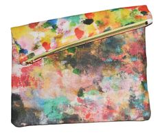 Image of Color Theory Big Zipper Clutch