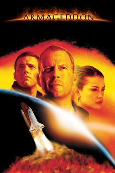 Armageddon es una película de ciencia ficción y cine catástrofe de 1998, dirigida por Michael Bay y protagonizada por Bruce Willis, Billy Bob Thornton, Ben Affleck, Liv Tyler, Owen Wilson, Will Patton, Michael Clarke Duncan, Peter Stormare y Steve Buscemi.