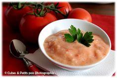 Soupe de manioc à la tomate pour p'tit bout (Dès 8 mois)