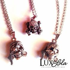 More boys chains. ($10-$12) We have received so much love on our last skull chain we added a few more options. #jewelry #accessories #boys #kidsfashion #fashionkids #fashion #instagoods