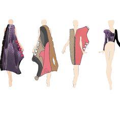 Shoe Jacket collection #illustrations #makingitpersonal #uni #project #shoes #colour #purple #black #white #pink #grey #art #creative #fashion #design #fashiondesigner #universityofbedfordshire