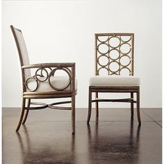 McGuire Furniture: Laura Kirar Dining Side Chair: No. M-282