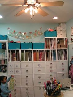 She has 25-30 cubes! - Jennifer Priest's Scrapbook Room
